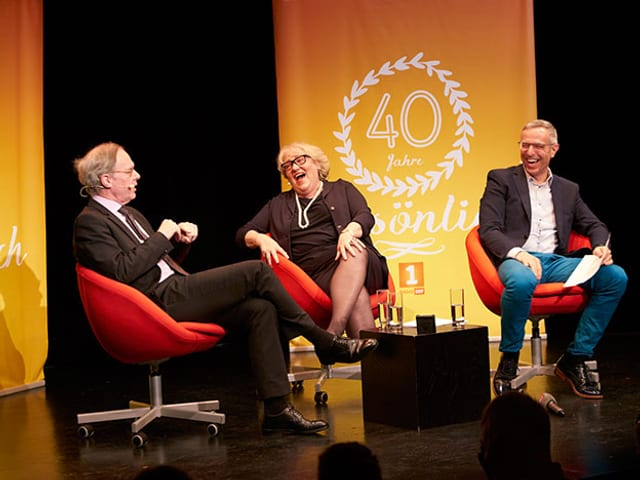 Thierry Carrel und Julia Onken bei Dani Fohrler im «Persönlich».