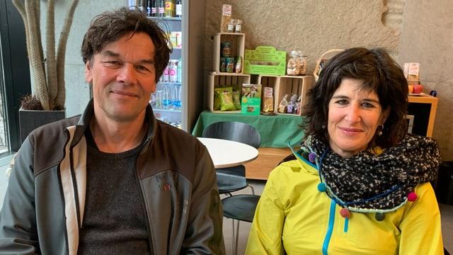 Thomas Baumann und Corinne Schmidlin