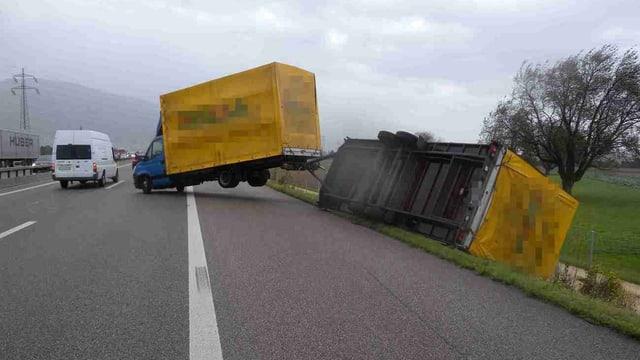 In camiun è cupitgà sin l'A1 tranter Kriegsstetten ed Oensingen.