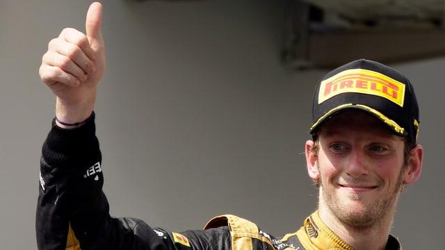 Roman Grosjean bleibt bei Lotus.