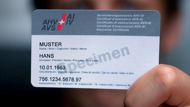Die Verwendung der AHV-Nummer wird immer mehr ausgedehnt.