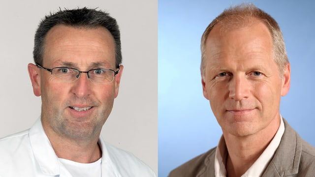 Dr. Florin Allemann und Dr. Christoph Sommer