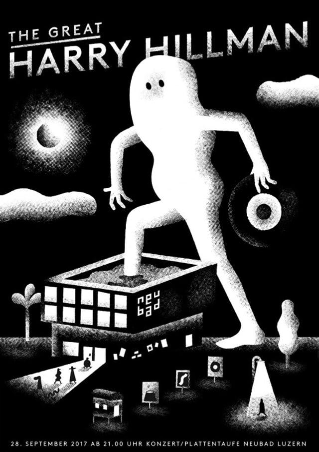Plakat von Benjamin Hermann