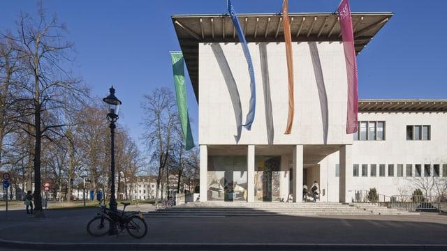 Universität Basel von aussen.
