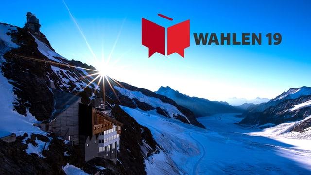 Video «Wahl-Arena: «Klima» in der Gletscherhöhle des Jungfraujochs» abspielen