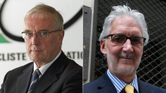 Amtsinhaber Pat McQuaid oder Herausforderer Brian Cookson.