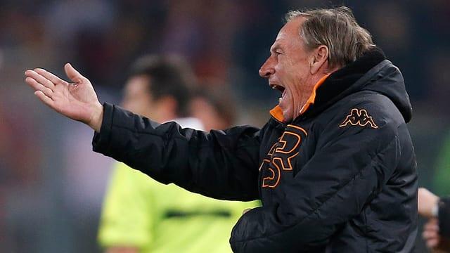 Zdenek Zeman ist nicht mehr Roma-Trainer.