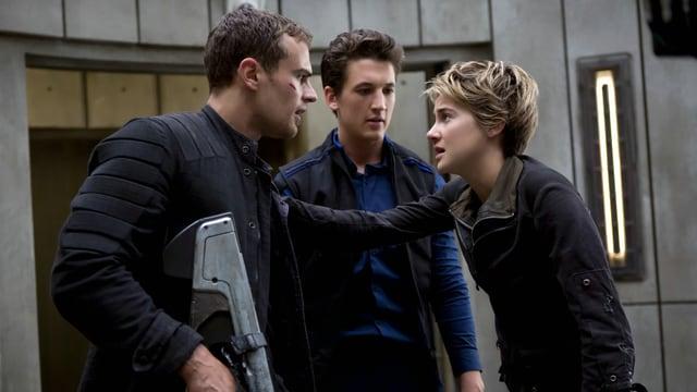 Four, Peter und Tris