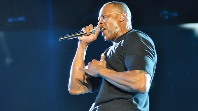 Dr. Dre auf der Bühne