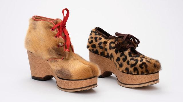 Schuhe aus der Kriegszeit