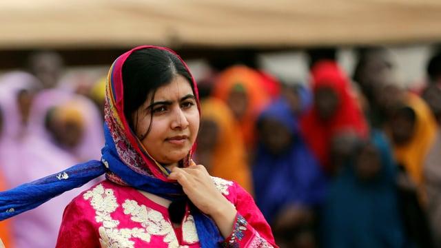 purtret da Malala Yousafzai