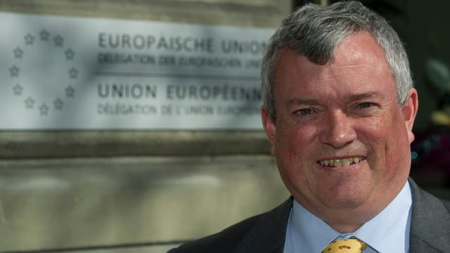 Porträt vom EU-Botschafter Richard Jones