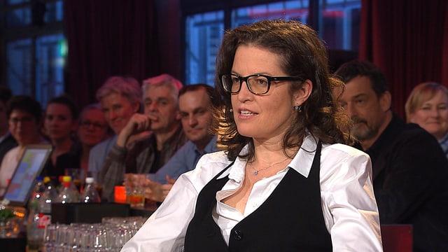 Die Schweizer DIriegentin Graziella Contratto.