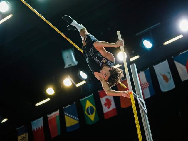 Weltrekordhalter Armand Duplantis.