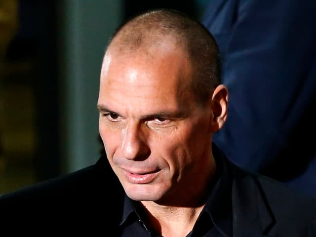 Giannis Varoufakis im Porträt