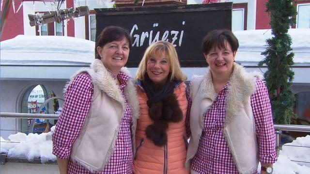 Video «Kanton Graubünden – Tag 5 – Restaurant Simmens Rösti, Arosa» abspielen
