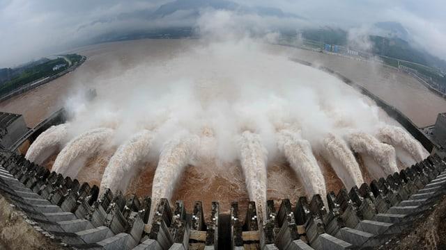 Drei-Schluchten-Staudamm in China
