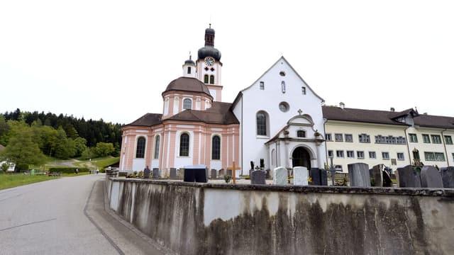 Blick auf das Kloster Fischingen