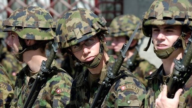 Schuldada da l'armada svizra.