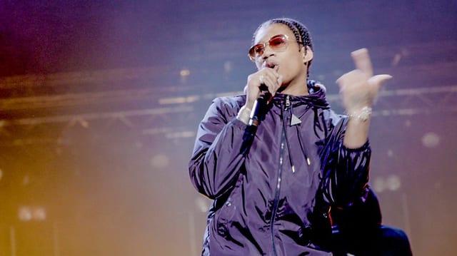 Digga D auf der Bühne