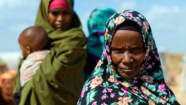 Habiba Hassan, 52, wohnt im Flüchtlingslager Dadaab.
