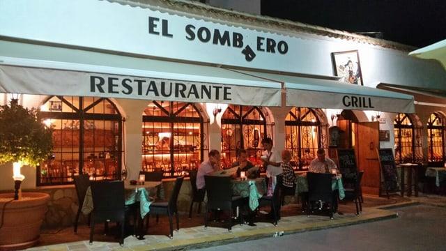 Das Restaurant «El Sombrero» von Toni Staffelbach in Corralejo auf Fuerteventura.