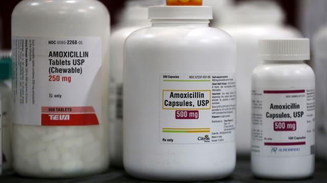 Wirken nicht mehr bei allen: Antibiotika.