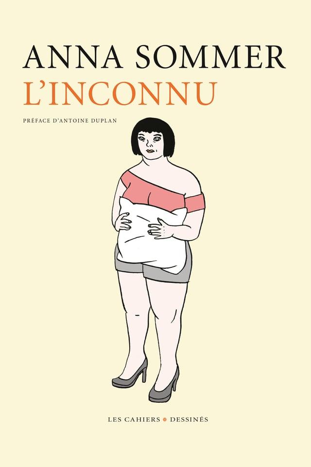 Comic: Eine Frau mit einem Kissen