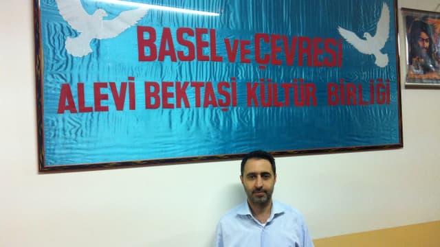 Hasan Kanber vom Alevitischen Kulturverein an der Leimenstrasse in Basel