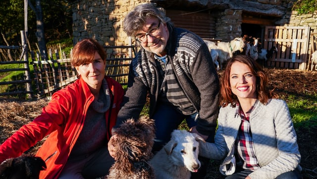 Anja Kinsky und Claude Wegmann wollen trotz Erdbeben und weiterer Erdbebengefahr in Italien bleiben.