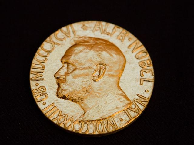 Die Medaille für den Friedensnobelpreis an den chinesischen Dissidenten Liu Xiaobo (2010)