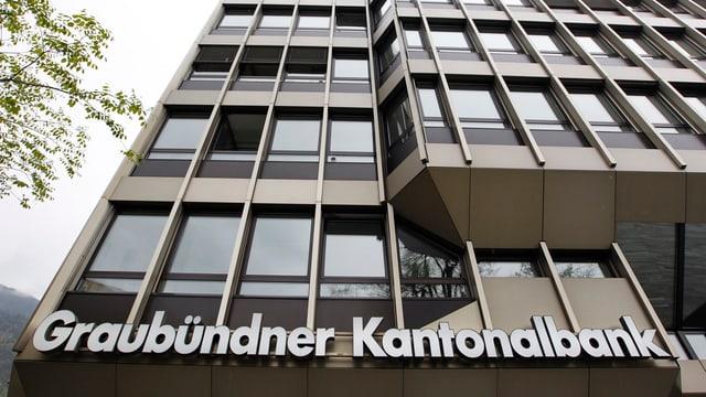 Il bajetg da la Banca Chantunala Grischun a Cuira