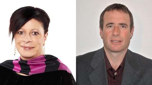 Gabriella Binkert Becchetti è Rico Lamprecht candideschan sco president communal
