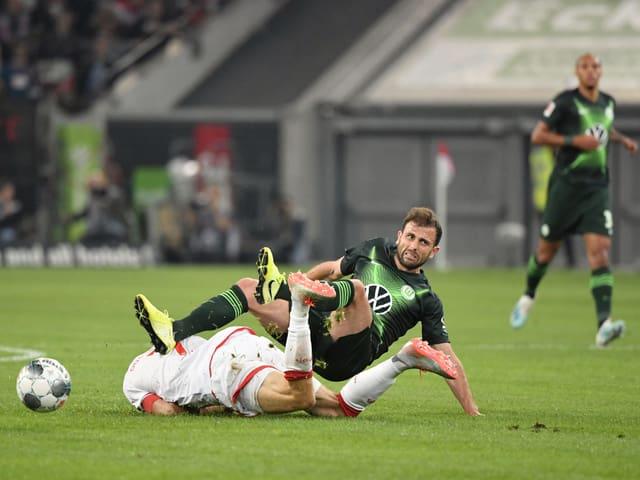 Admir Mehmedi spielte 69 Minuten für Wolfsburg.