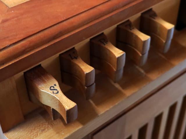Register einer Orgel