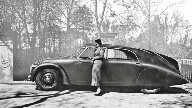 Auto als Statussymbol: eine französische Werbung von 1934.