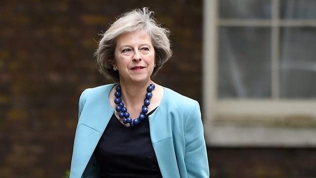 Theresa May ministra dal intern da la Gronda Britannia.