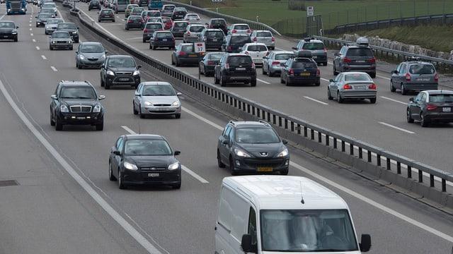 Verkehr auf A1