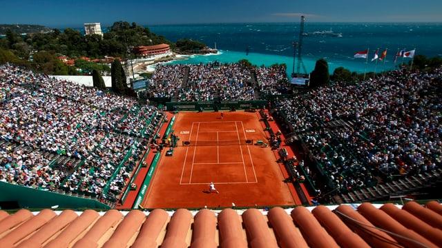 Das ATP-1000-Turnier in Monte Carlo.
