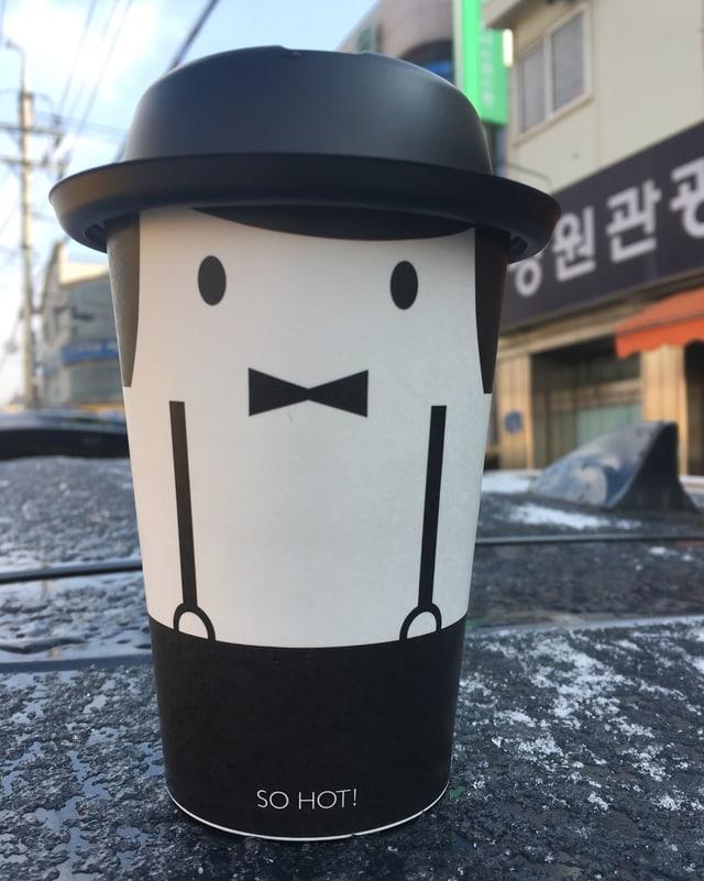 Kaffeebecher.