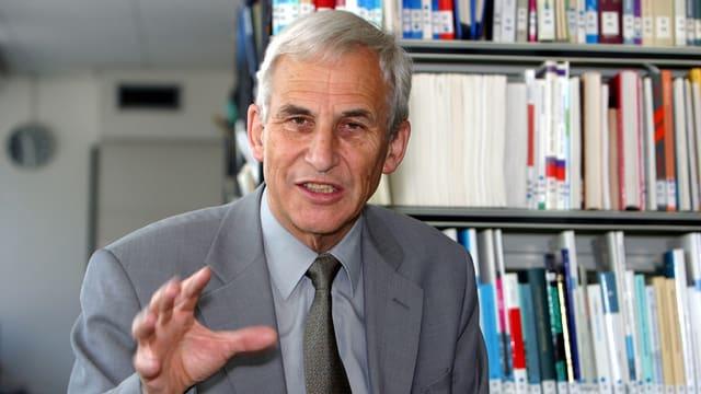 Emeritierter Wirtschaftsprofessor Richard Senti.