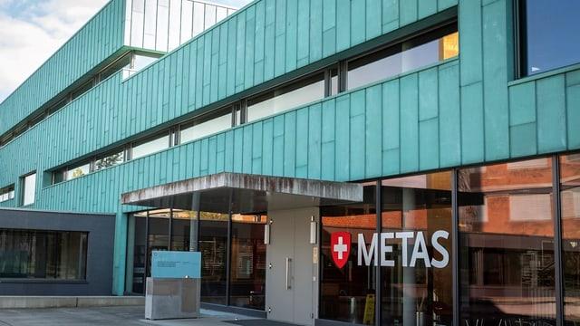Il bajetg da l'institut federal per metrologia a Wabern sper Berna.