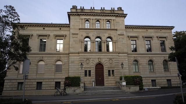Das Regierungsgebäude des Kantons Zug.