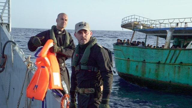 Ausschnitt aus «Europa oder Tod – die Lebensretter vom Mittelmeer»