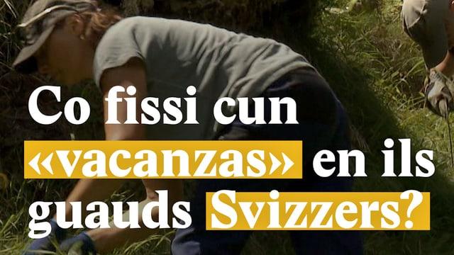 "Laschar ir video «Co fissi cun ""vacanzas"" en ils guauds Svizzers?»"
