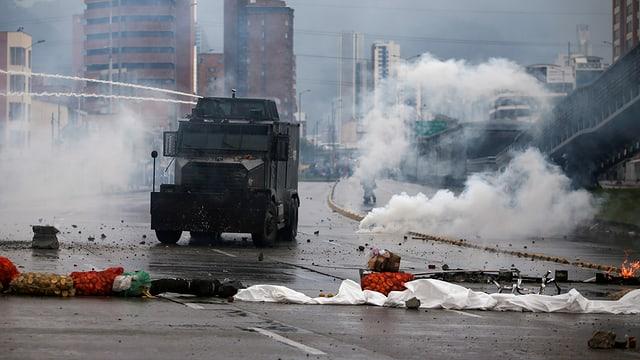 Unruhen in Kolumbien