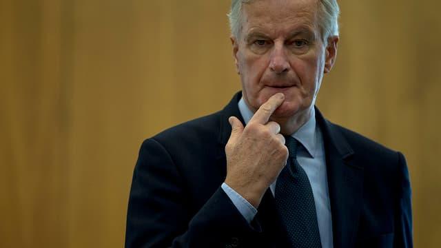 Purtret da Michel Barnier.