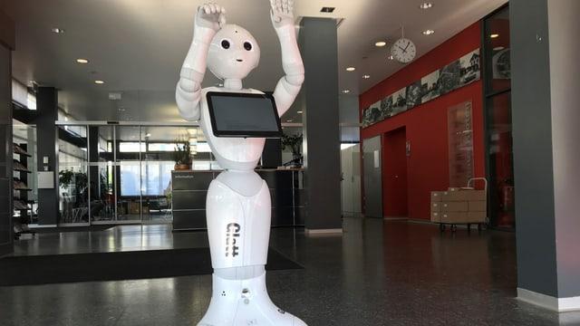 Weisser Roboter