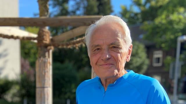 André Deville, der 1966 in Kriens den ersten Rollstuhlclub mitgründete.