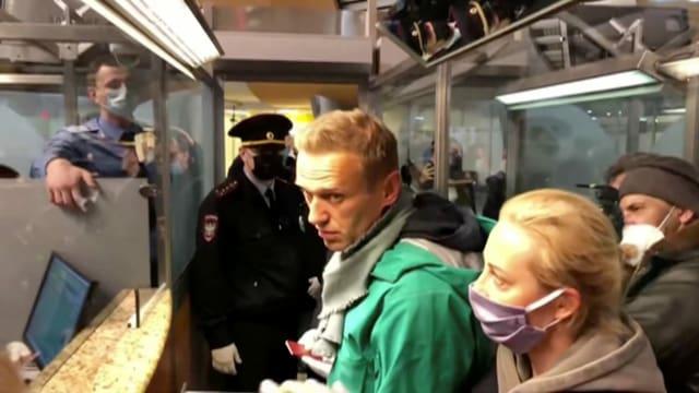 Kremlkritiker Nawalny.